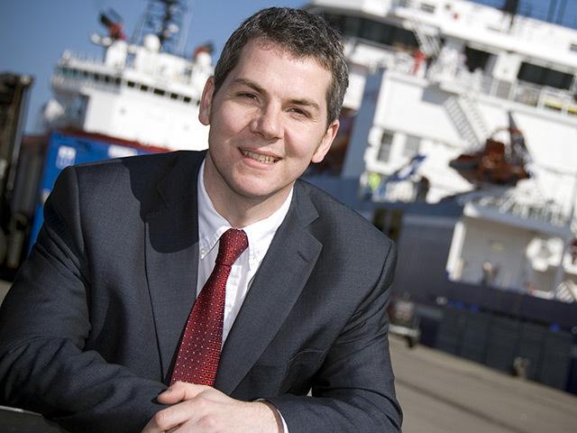 Bibby Offshore's Fraser Moonie
