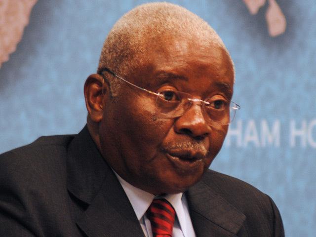 Armando Emilio Guebuza, president of Mozambique