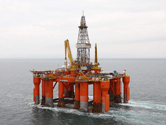 RETURNING: The Blackford Dolphin rig will work for MPX and then Cairn Energy
