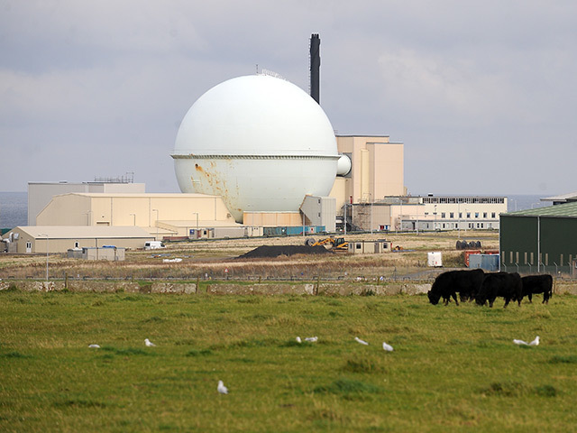 The Dounreay nuclear testing facility in Caithness
