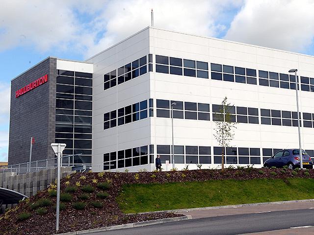 Halliburton's Aberdeen offices