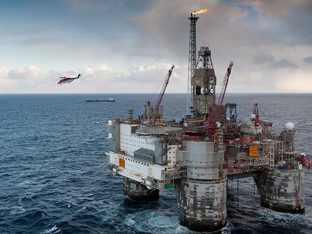 Statoil's Heidrun platform