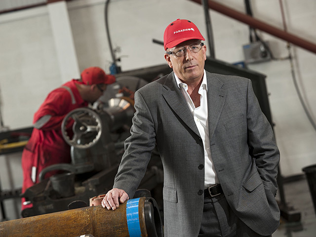 Paradigm Drilling Services chief executive Fraser Innes