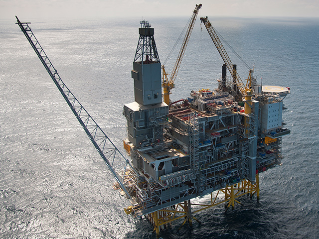 The Grane oil platform will be linked to the Edvard Grieg and Ivar Aasen fields