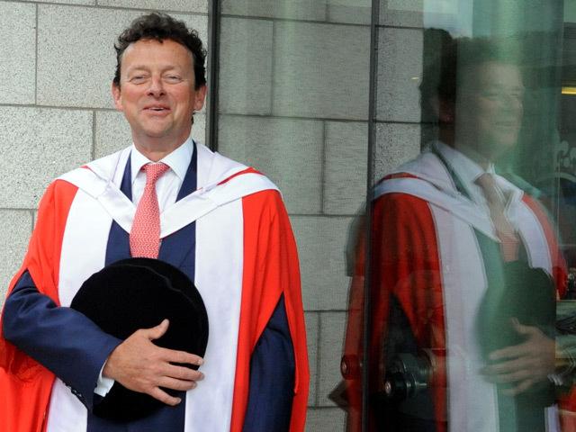 Tony Hayward receives his degree from Robert Gordon University