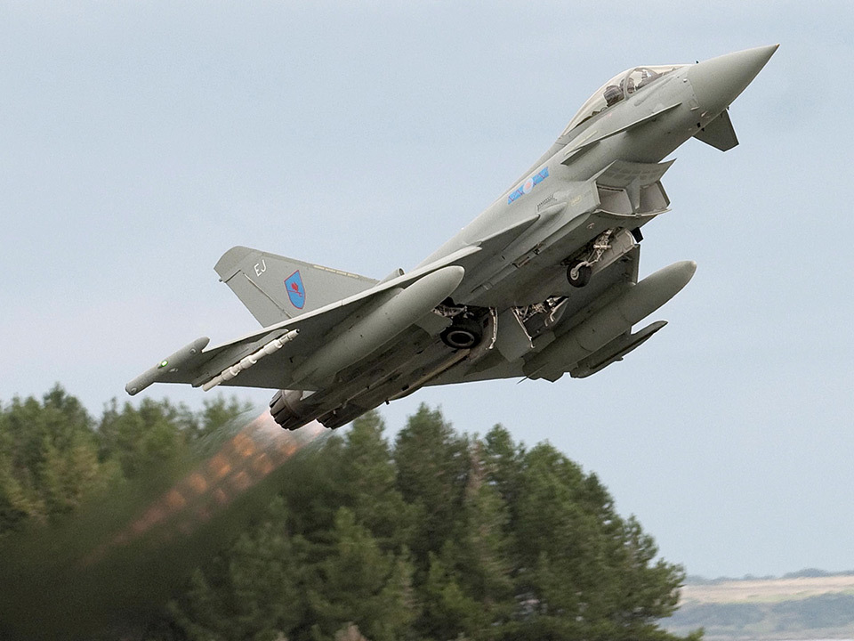The arrival of Typhoons at Lossiemouth will 'add to intensity and complexity of air operations'