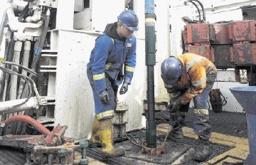 Shale drilling operations