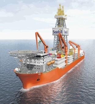 Seadrill super-drillship West Neptune