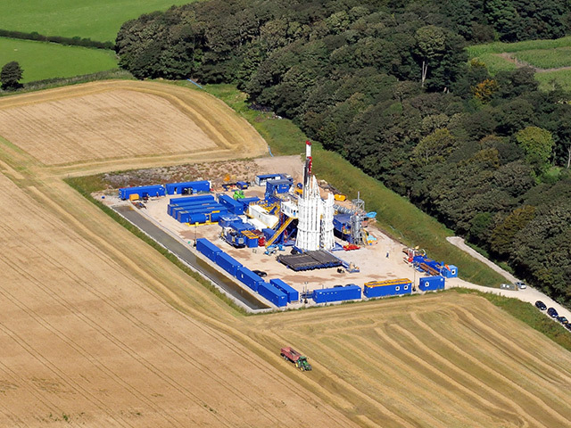 Cuadrilla fracking work in Lancashire