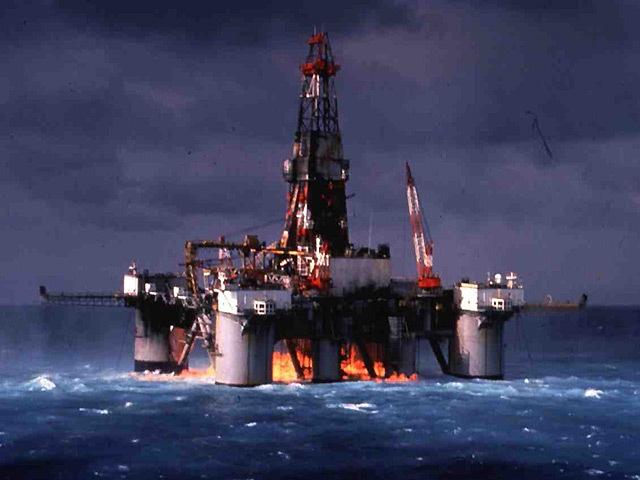 CATASTROPHIC: Drilling rig Ocean Odyssey – gas explosion September 22, 1988