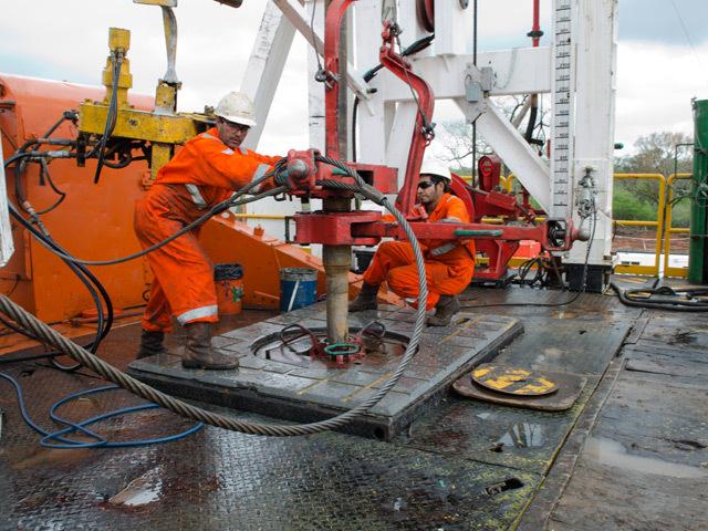President Energy drilling