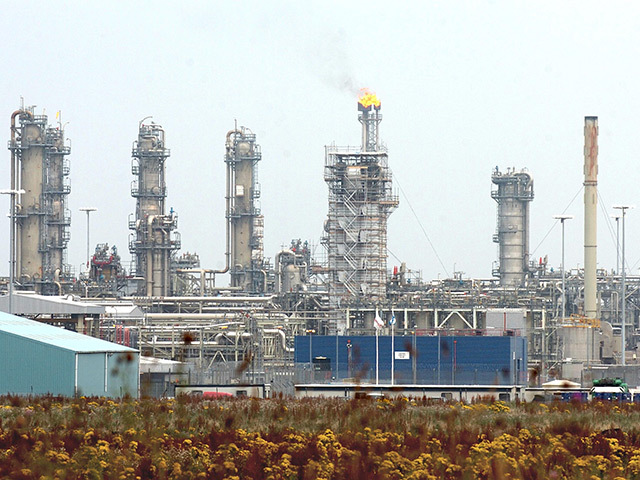 The St Fergus gas terminal