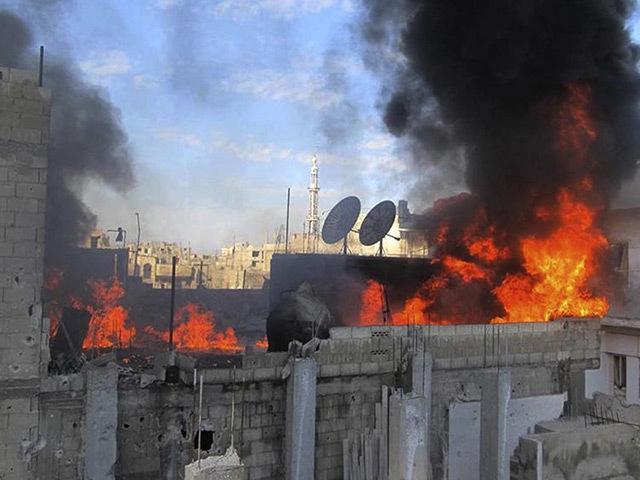 Syria - bombing