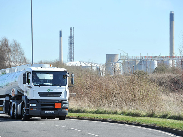 The Stanlow refinery
