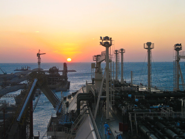 One of Teekay's LNG vessels