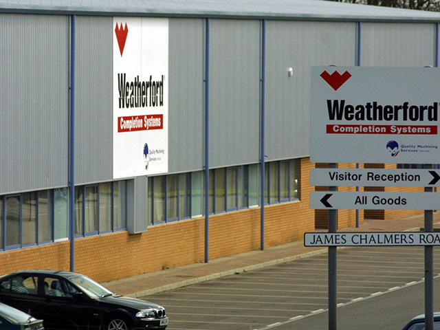 Weatherford is set to make a number of job losses