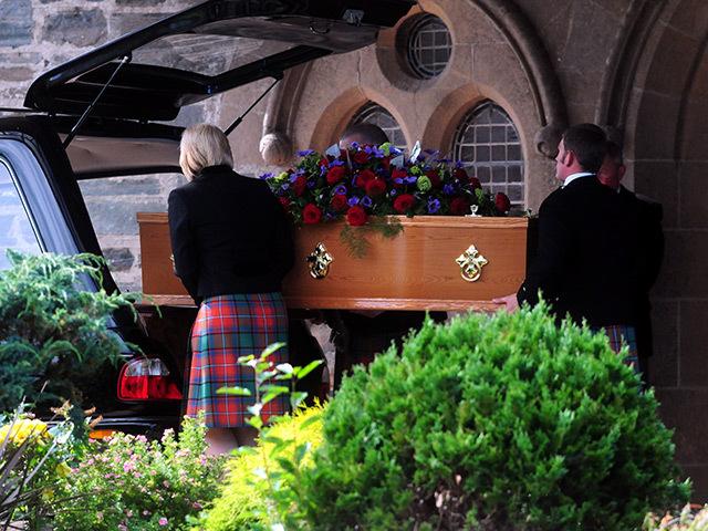 Sarah Darnley's funeral was held at Moray Crematorium