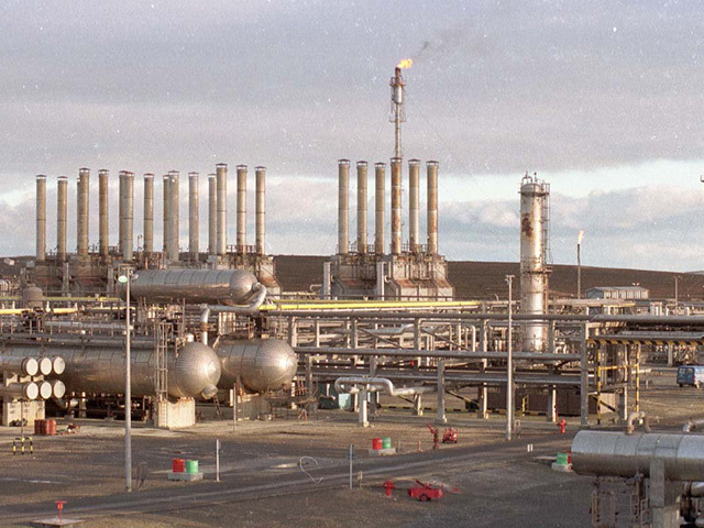 Flotta oil terminal
