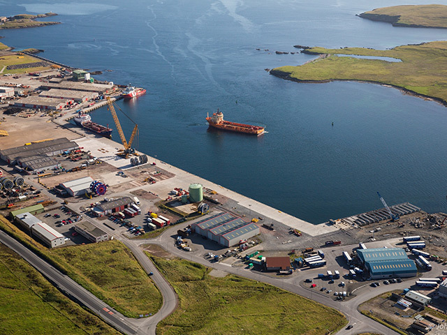 Lerwick Harbour has been chosen as the site for the decommissioning of Repsol-Sinopec's Buchan Alpha platform.