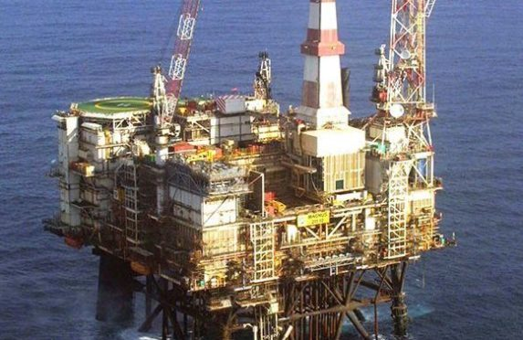 North Sea Magnus platform