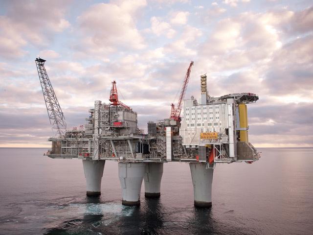 Statoil's Troll platform
