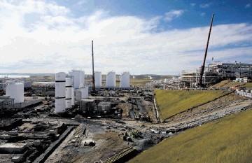 Petrofac's Shetland gas plant