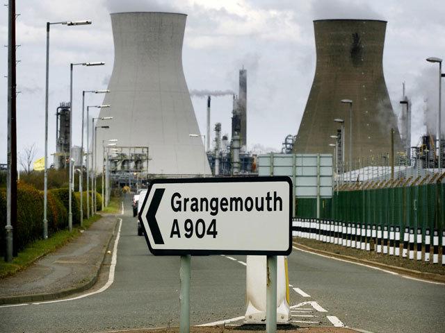 Grangemouth refinery