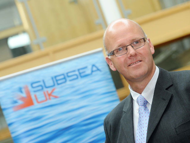Neil Gordon, Subsea UK's chief executive