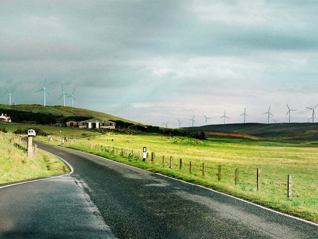 Artist impression from the developers of the planned Viking  Energy wind farm in Shetland, which missed out on a CfD in 2019.
