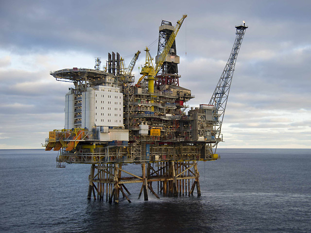 DNO took hits related to fields in both the UK and Norway, including the Brasse discovery, which it hopes to tieback to either the Oseberg field or Brage platform (pictured).