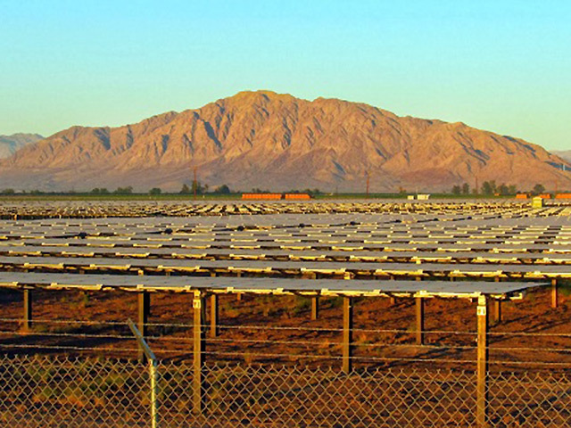 The Mount Signal solar project