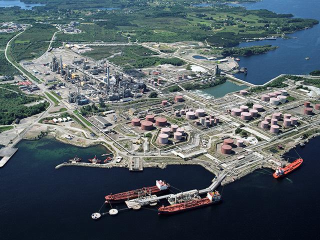Norway's Mongstad oil terminal