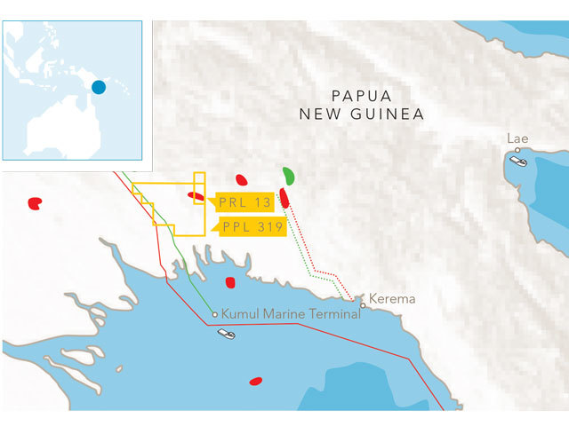 Horizon Oil has spudded the Nama-1 exploration well