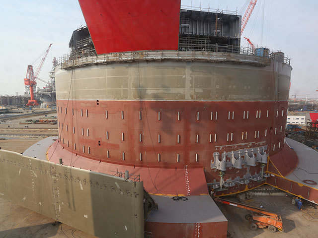 Last month the Western Isles FPSO hull was successfully launched at the COSCO yard in Qidong, China