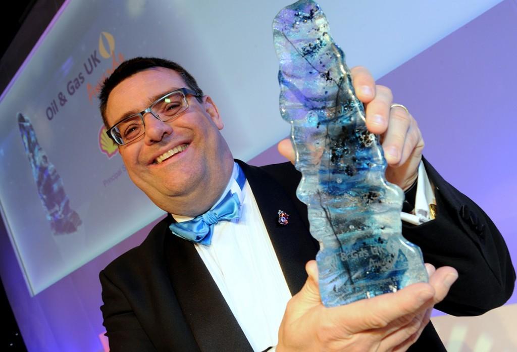 Amec's Bruce Christie, winner of the People Development Award