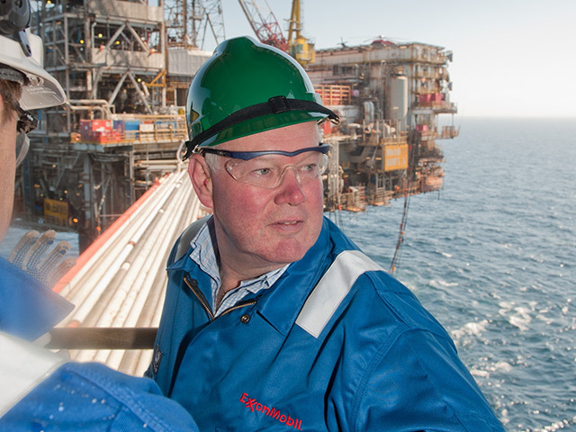 Former UK Energy Minister Charles Hendry on the Beryl North Sea platform