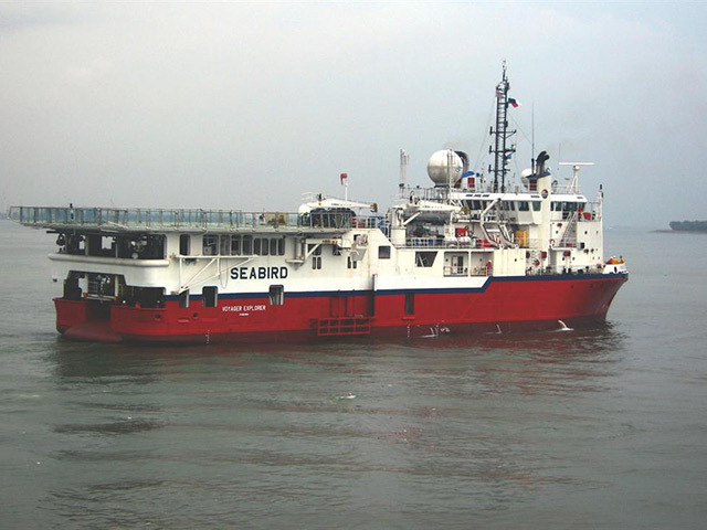 The Voyager Explorer, part of SeaBird fleet