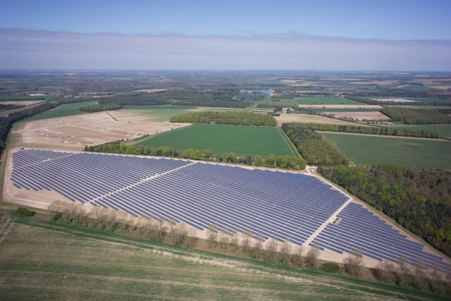 No large scale solar farms will be built within the next year