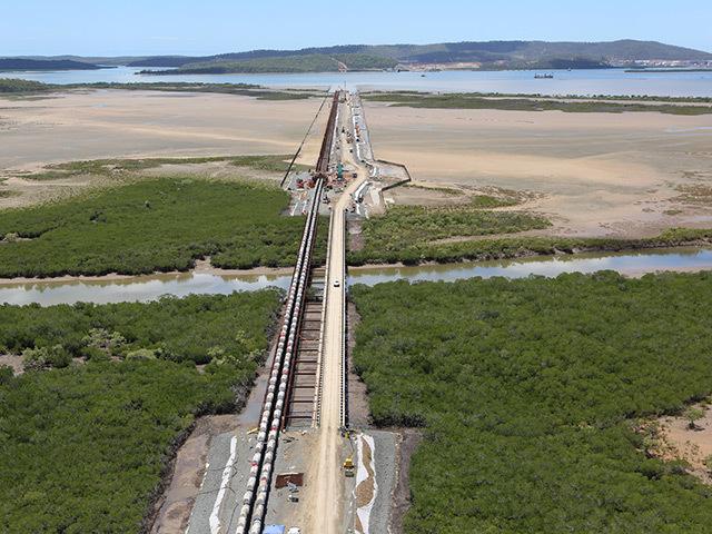 Queensland Curtis LNG pipeline