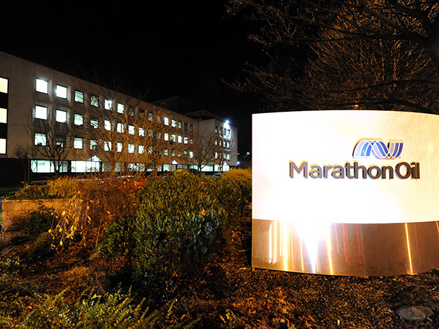 Marathon Oil's HQ in Aberdeen