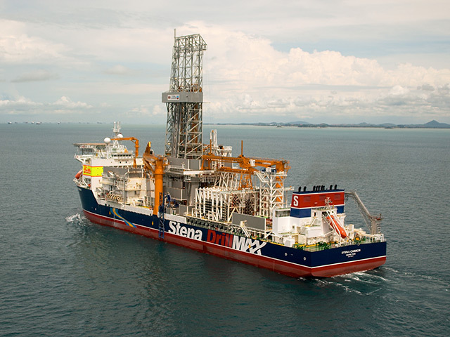 The Stena Carron drillship struck oil off Guyana for ExxonMobil last month