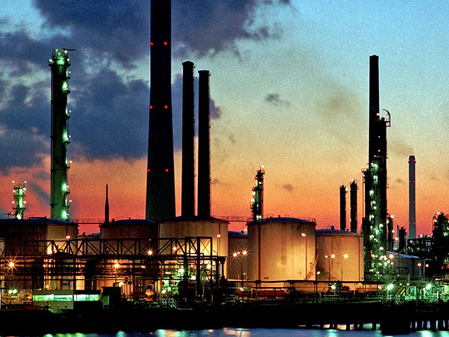 Shell's Pernis refinery