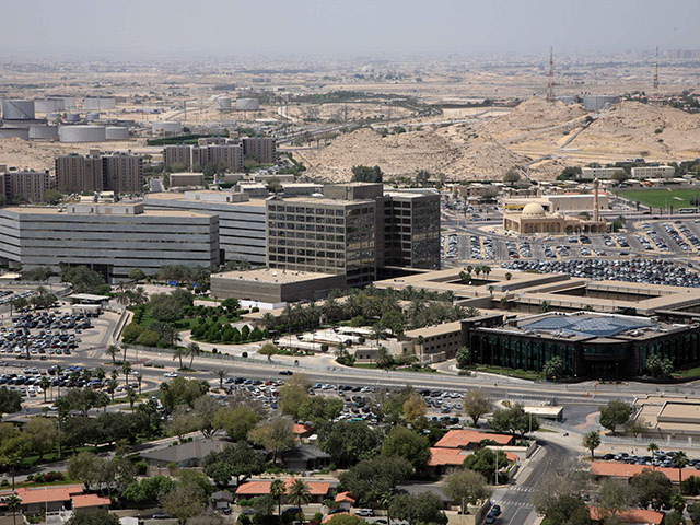 Saudi Aramco's base in Dhahran