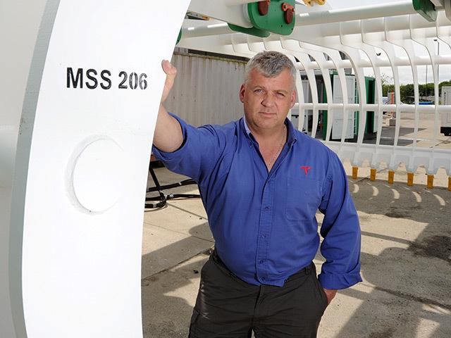 Marin chief executive George Stroud