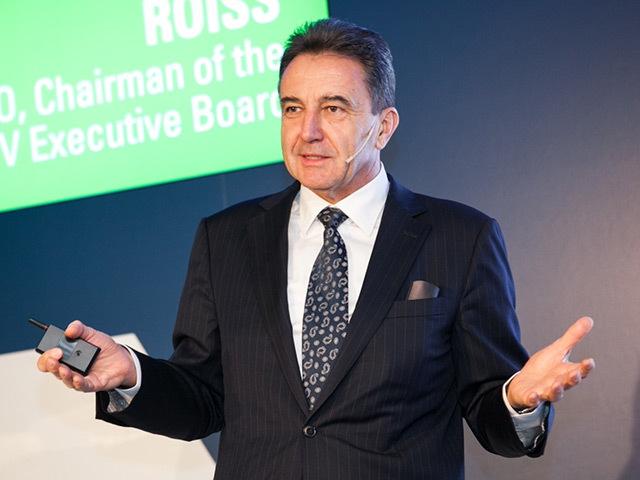 OMV chairman and CEO Gerhard Roiss