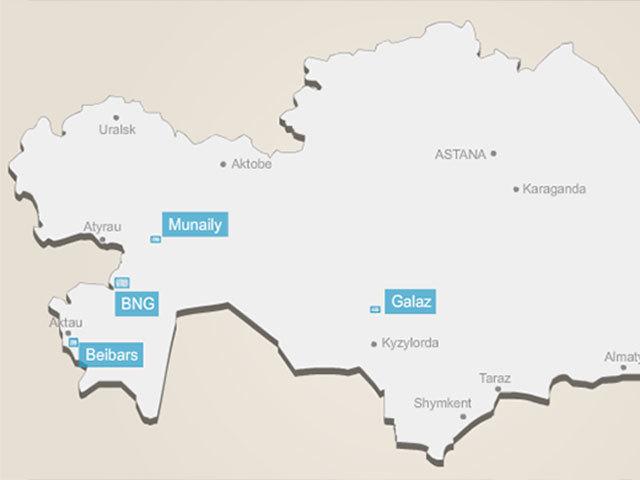 Roxi Petroleum's Kazakhstan operations. Picture by Roxi Petroleum.