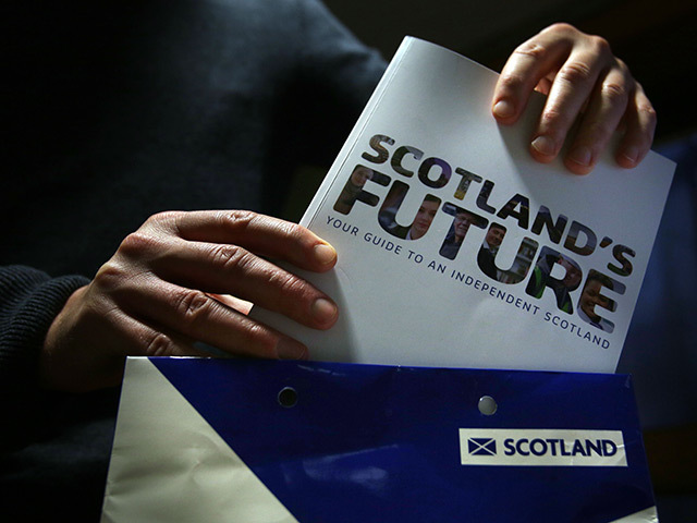 The Scottish Government's white paper on independence, in which oil and gas revenue were key