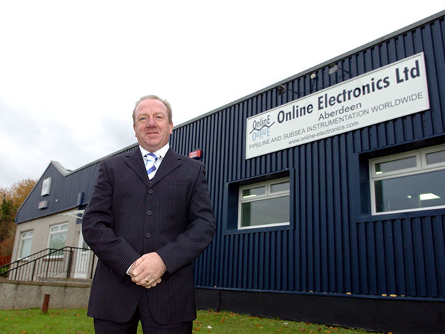 Brian Gribble, Online Electronics managing director