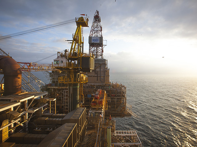 North Sea oil price