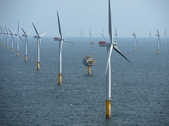 The Sheringham Shoal wind farm is near the Dudgeon project
